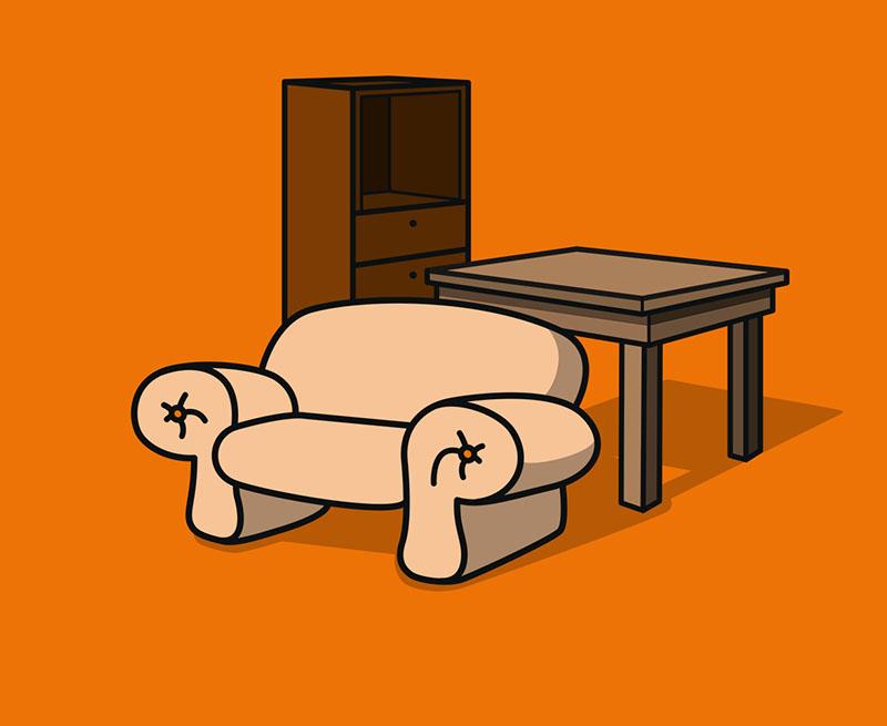 Kinder/Jugendbett mit Lattenrost